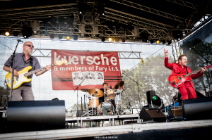 Kuersche and members of fury trio olfen kleiner